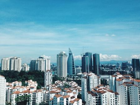 kl: KL and bangsar view from Pantai hillpark