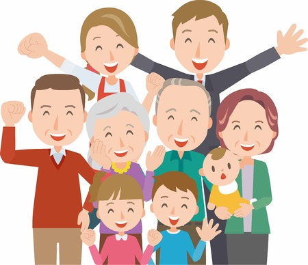 Healthy family(Four generations)