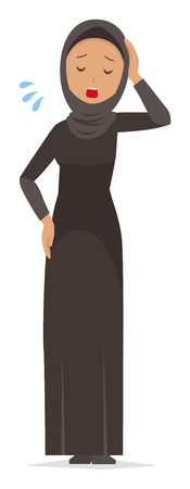 Cartoon woman image illustration