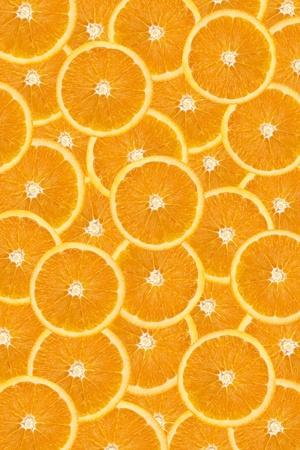 sliced  �  �  �  �: Sliced oranges background Stock Photo