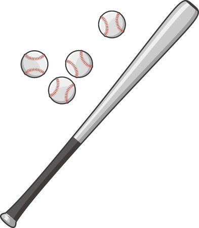 Metal bat and rigid ball