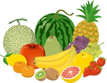 Image illustration of fruit platter