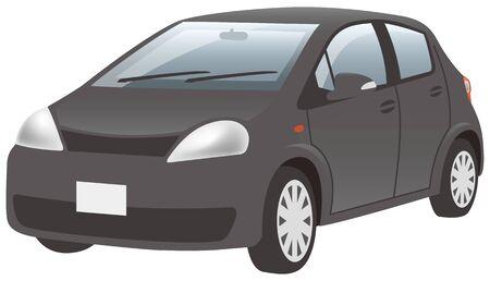 Black car (front diagonal)