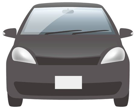 Black car (front)