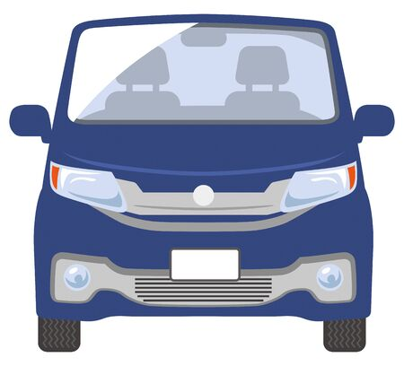 Front illustration of the car (amber color)