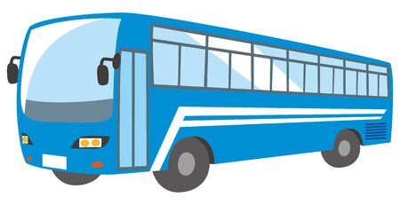 Image illustration of sightseeing bus