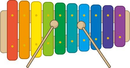 Colorful Kiso image illustration
