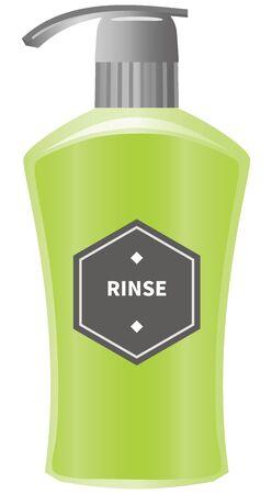 Image illustration of rinse