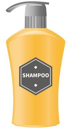 Image illustration of shampoo