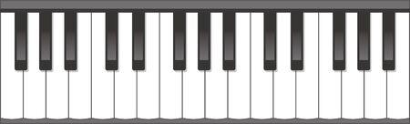 Bilddarstellung der Tastatur Vektorgrafik