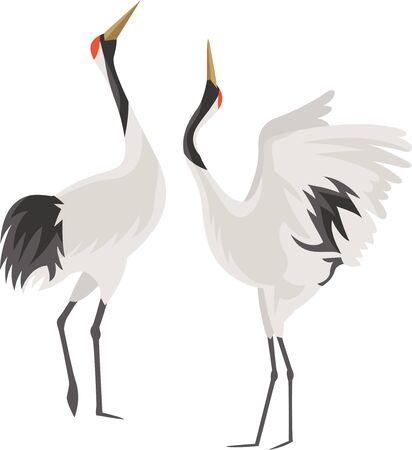 Image illustration of a crane