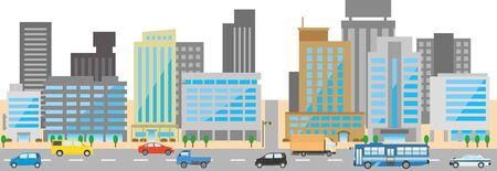 Bilddarstellung des Büroviertels Vektorgrafik
