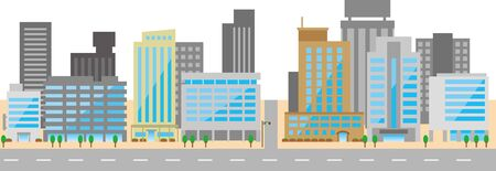 Image illustration of the office district