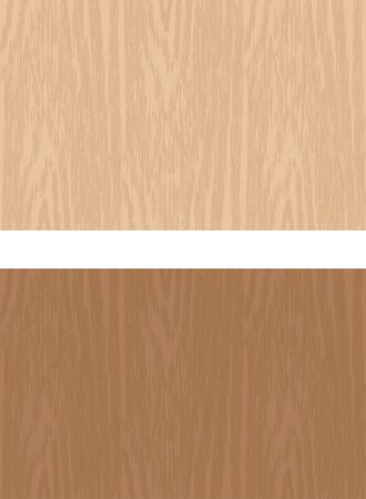 Grain. Image illustration of two colors of wood Stock Illustratie