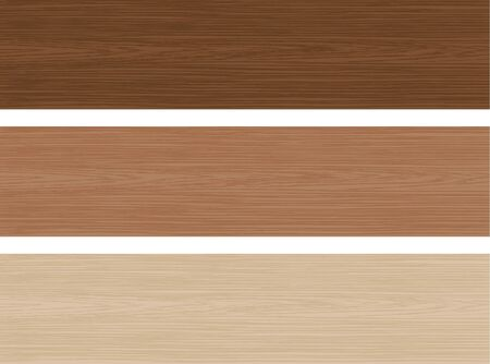 Grain. Image illustration of three colors of wood Stock Illustratie