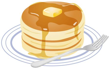 Image illustration of pancake