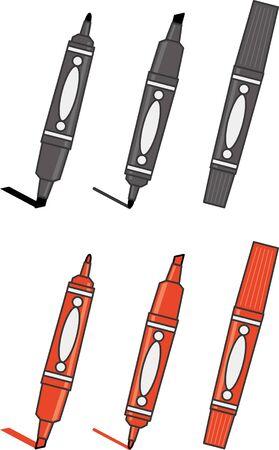 Image illustration of magic pen