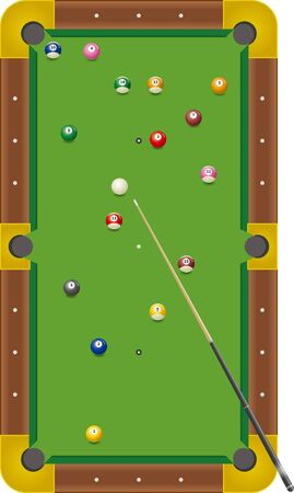 randomly arranged billiard spheres