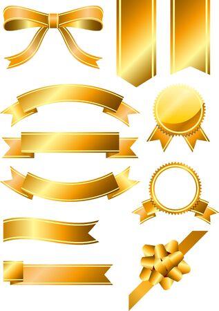 Ribbon Gold Set