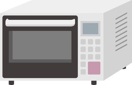 Image illustration of microwave oven