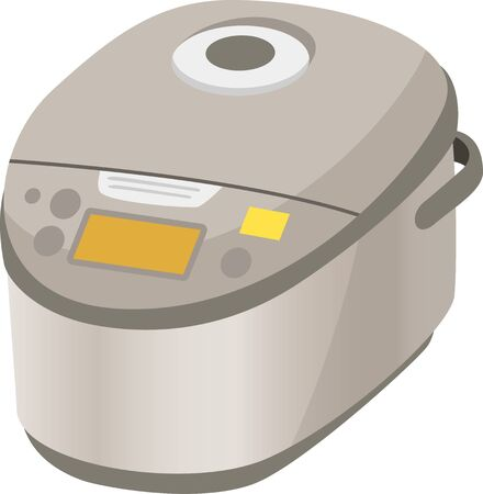 Image illustration of rice cooker