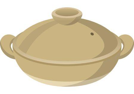 Image illustration of earthen pot