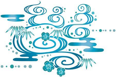bingata design (Japanese-style pattern)