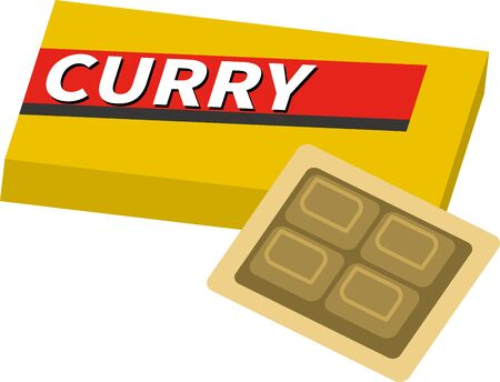 Image illustration of Curry Roux