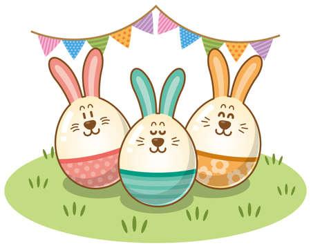 Image of Easter (Rabbit Egg) Ilustrace