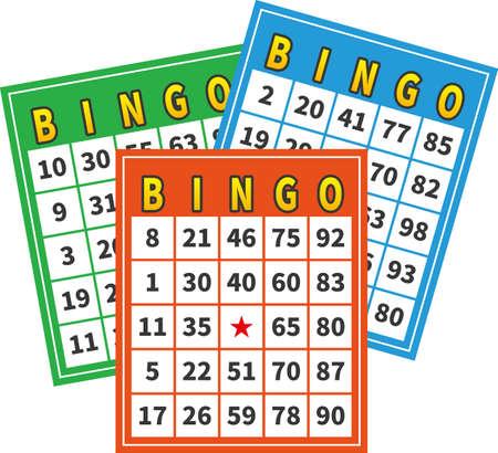 Image illustration of bingo card