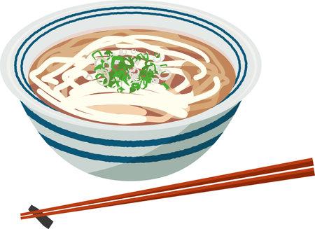 Image illustration of normal udon