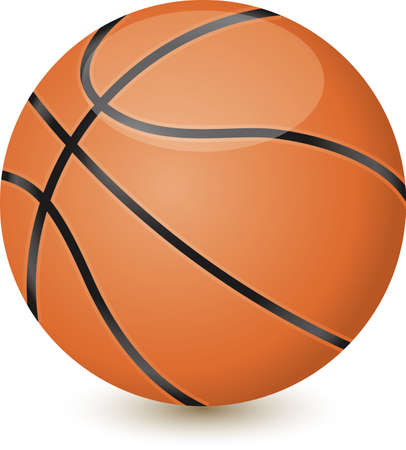 Basketball Image Illustration