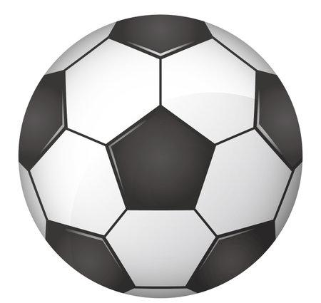 Soccer ball image illustration (vector)