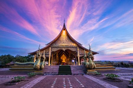 Sirindhorn Wararam Phu Prao Temple (Wat Phu Prao), Ubon Ratchathani, Thailand Stok Fotoğraf