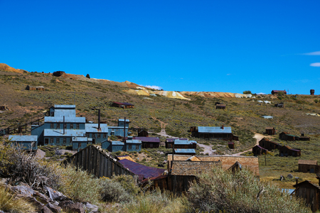 Abandoned gold processing plant, Bodie, Ghost Town California