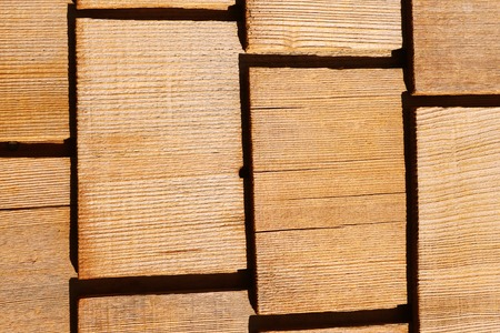old wooden shingles for creative background