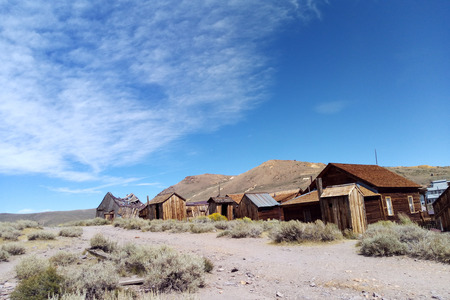 Lost Ghost Town of Bodie California