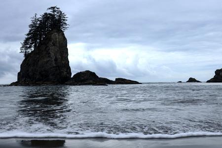 Second Beach in Olympic National Park, Washington, USA