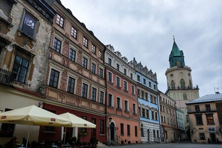 Lublin, Poland - May 14, 2019 Old town of Lublin