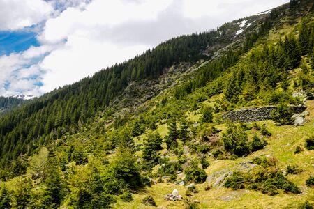 Transfagaras - hiking in the mountains