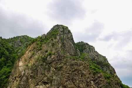 The Transfagarasan mountain road in Romania. nature 写真素材
