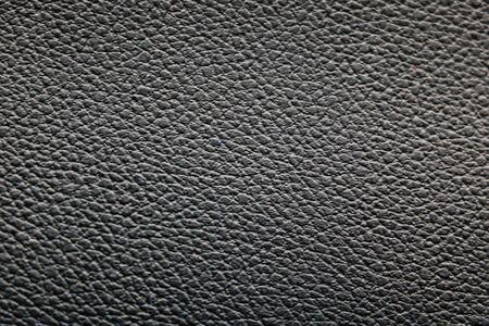 Dark black leather texture background surface