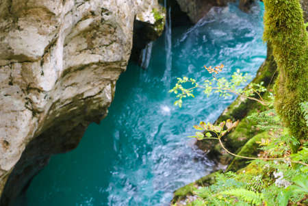 Triglav national park in Slovenia: mountains, emerald rivers, forests