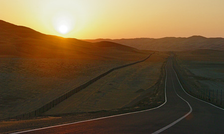 wilds: Road in the Arabian wilds