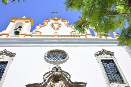 Catholic church in Tavira, Portugal. Stock Photo