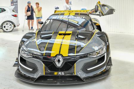 DIEPPE, FRANCE - JUNE 30, 2018: Renault car modele R.S. spirit