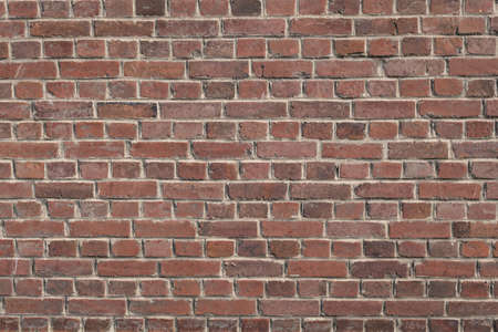 Red brick wall background grunge texture