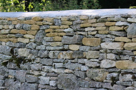 restoration: Drystone wall repair restoration
