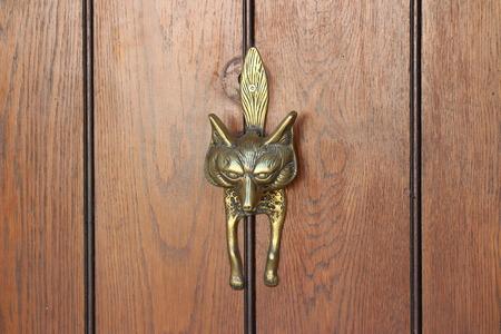 Fox Door Knocker Stock Photo   58969334
