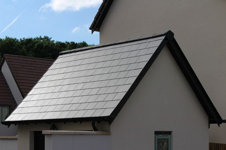 tejas para techos de pizarra en la azotea del Reino Unido